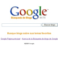 Blogsearch - Bloque de Búsqueda de blogs beta by Google