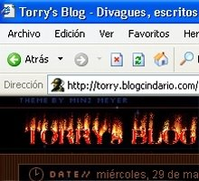 Modificaciones menores al Blog